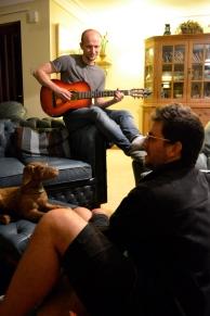 AJ Meadows, Wooden Dog and Steve Murray